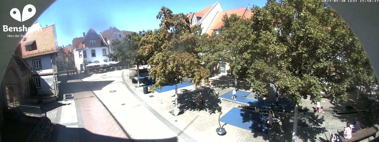 Webcam Untere Fußgängerzone Bensheim